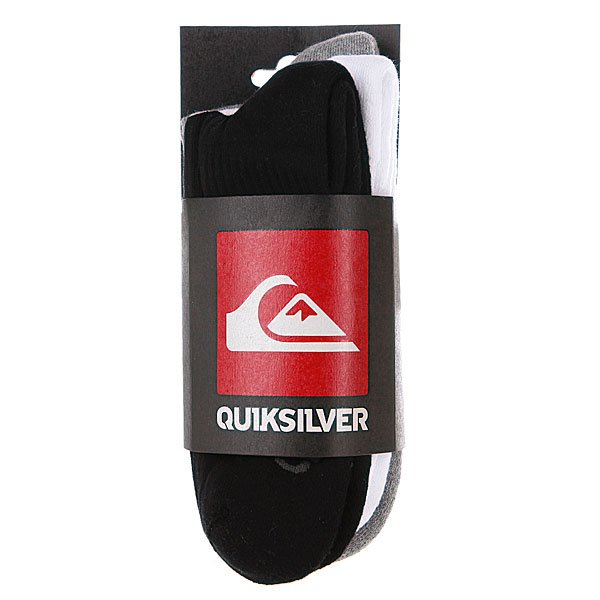 Носки Quiksilver Highsocks Pack Assorted(3-Pack) от BOARDRIDERS