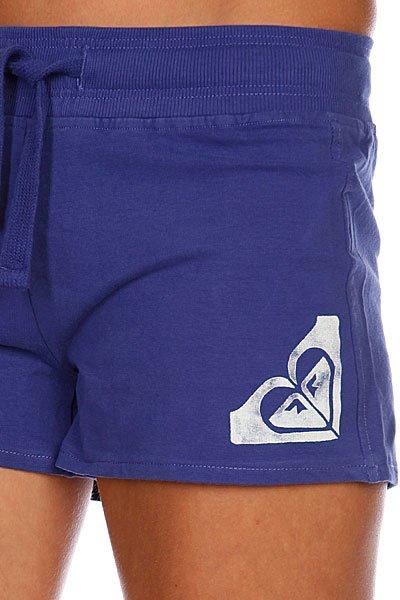 Шорты классические женские Roxy Beach Brights Short Violet Blue от BOARDRIDERS