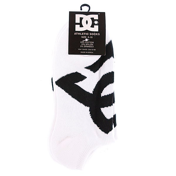 Носки низкие DC Suspension 2 No-Show Socks White от BOARDRIDERS