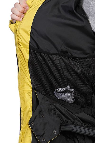 Куртка Quiksilver Polar Pillow Oil Yellow от BOARDRIDERS