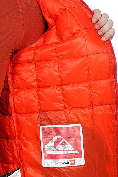 Куртка зимняя Quiksilver Collapse Down Hoodie Slate от BOARDRIDERS