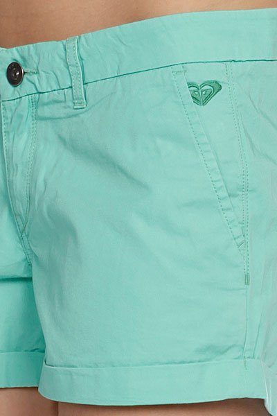 Шорты женские Roxy Island Green Mint от BOARDRIDERS