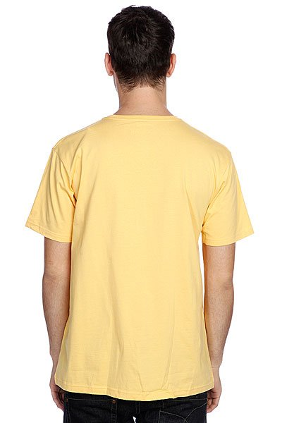 Футболка Quiksilver Ss Basic Tee R28 Sunset Gold от BOARDRIDERS