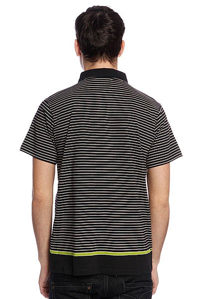 Поло Quiksilver Stripe Polo Msp Black от BOARDRIDERS