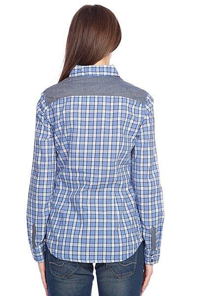 Рубашка в клетку женская Roxy Peachy Cornflow Peachp от BOARDRIDERS