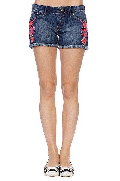 Шорты джинсовые женские Roxy Lovin Emby Dark UsedШорты<br><br><br>Размер EU: W26<br>Размер EU: W27<br>Цвет: синий<br>Тип: Шорты джинсовые<br>Возраст: Взрослый<br>Пол: Женский
