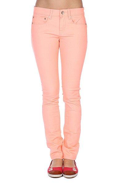 Джинсы узкие женские Roxy Suntrippers Colors M CantalopeДжинсы<br>Женские джинсы Suntrippers от ROXY.Характеристики:Плотность ткани: 238 г/кв. м. Цветной деним.Легкая обработка «под винтаж». Кожаная нашивка ROXY на заднем кармане.Облегающий крой.<br><br>Размер EU: W30<br>Размер EU: W26<br>Размер EU: W28<br>Размер EU: W27<br>Размер EU: W29<br>Цвет: оранжевый<br>Тип: Джинсы узкие<br>Возраст: Взрослый<br>Пол: Женский