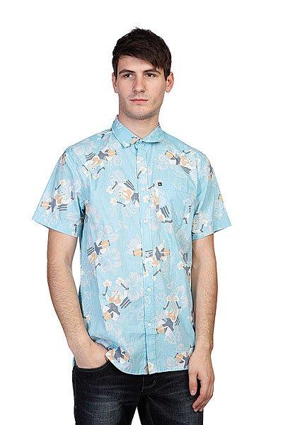 Рубашка Quiksilver Gun Momma LagoonРубашки<br><br><br>Размер EU: M<br>Размер EU: L<br>Цвет: голубой<br>Тип: Рубашка<br>Возраст: Взрослый<br>Пол: Мужской