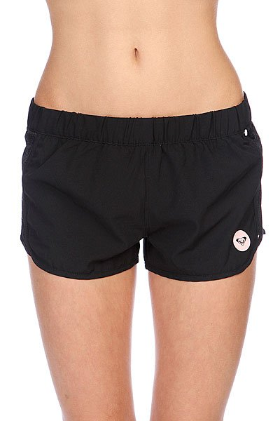 Шорты пляжные женские Roxy Line Up Of True BlackШорты<br><br><br>Размер EU: M<br>Размер EU: XL<br>Цвет: черный<br>Тип: Шорты пляжные<br>Возраст: Взрослый<br>Пол: Женский