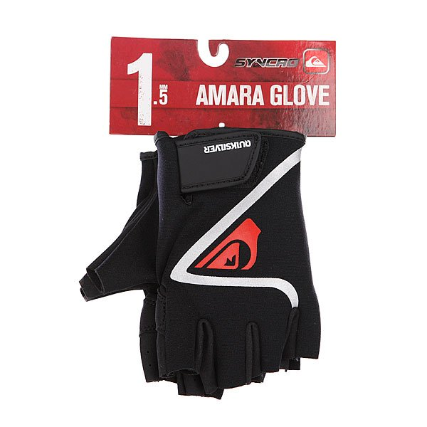 Перчатки Quiksilver Syncro 1.5mm Amara Glove Fingerless Black от BOARDRIDERS