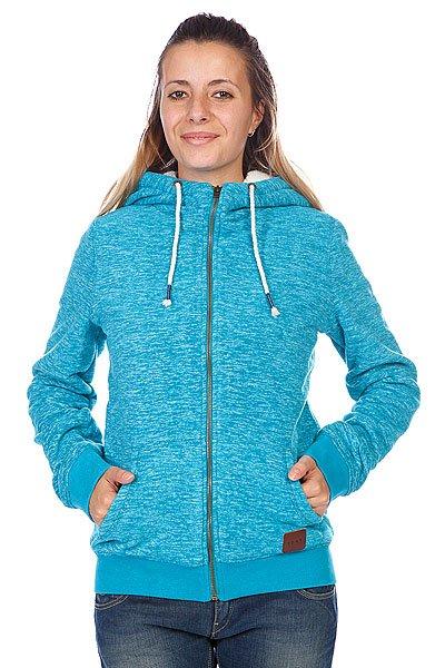 Толстовка утепленная женская Roxy Snowstorm Moroc Blu HeathТолстовки и Джемперы<br>Эта теплая флиска из Polar - отлично согреет в прохлодную погоду!  Модель с длинными рукавами и застежкой на молнию. Подол на кулиске. Спереди вместительный карма-кенгуру.<br><br>Размер EU: M<br>Цвет: голубой<br>Тип: Толстовка утепленная<br>Возраст: Взрослый<br>Пол: Женский