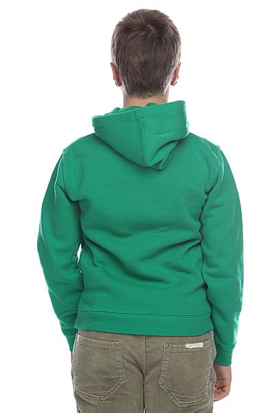 Толстовка детская Quiksilver Hood Rib Good Youth Shamrock от BOARDRIDERS