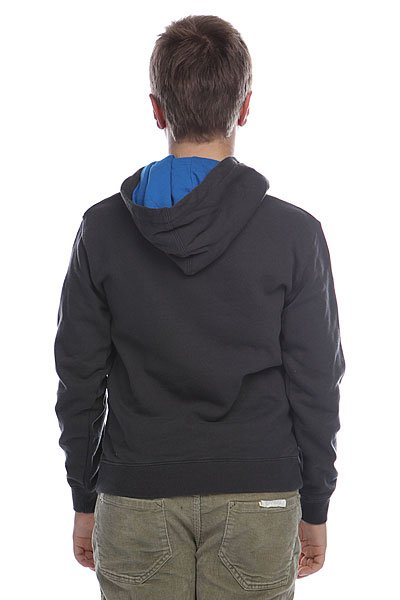 Толстовка детская Quiksilver Hood Rib Youth Dark Charcoal от BOARDRIDERS