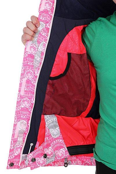 Куртка детская Roxy Jet Ski Girl Jk Diva Pink от BOARDRIDERS