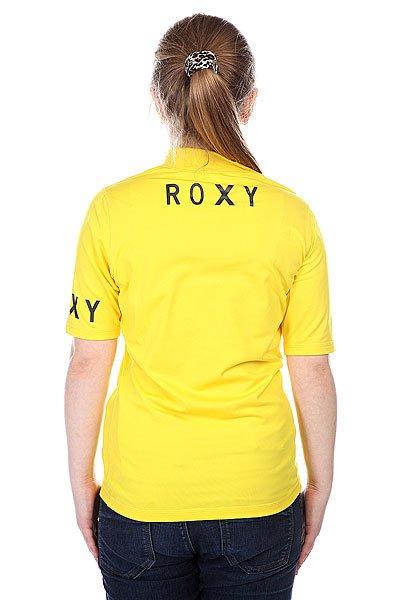 Гидрофутболка детская Roxy Lycra Contest Roxy Yellow от BOARDRIDERS