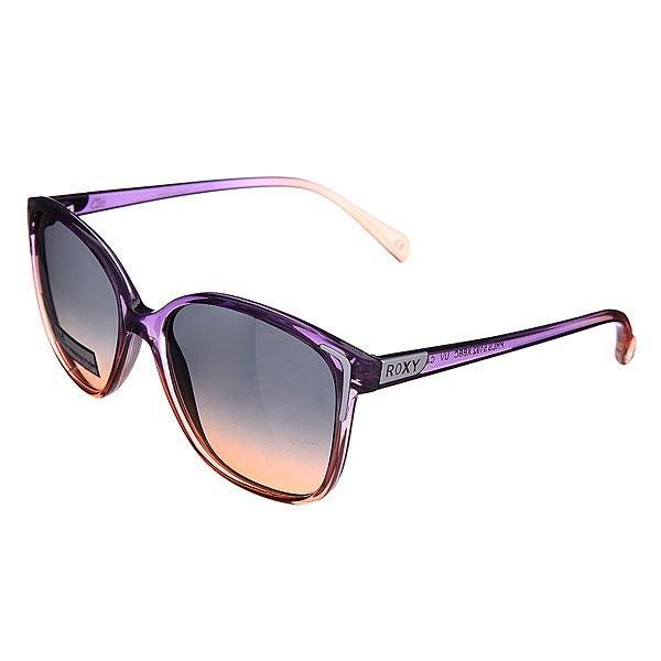 Очки женские Roxy Elle J Blue/BrownСолнцезащитные очки<br><br><br>Размер EU: One Size<br>Цвет: коричневый,фиолетовый<br>Тип: Очки<br>Возраст: Взрослый<br>Пол: Женский