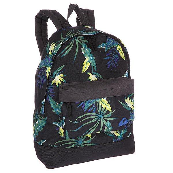 Рюкзак городской Quiksilver EveryDay Poster Backpack Backool BlackРюкзаки и Сумки<br>Этот рюкзак – идеален для школьника или студента!  Одно основное отделение и один передний кармашек на молнии. Вышитый логотип Mountain &amp;amp; Wave.<br><br>Размер EU: 15 л.<br>Цвет: черный<br>Тип: Рюкзак городской<br>Возраст: Взрослый<br>Пол: Мужской