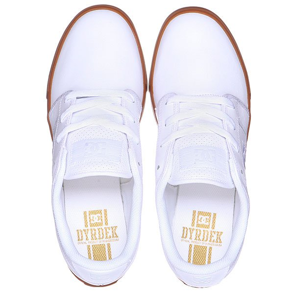 Кеды кроссовки DC Rd Grand Se White/White/Gum от BOARDRIDERS