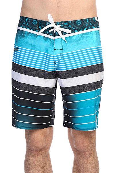 Шорты пляжные Quiksilver Ag47 Remix HawaiiБордшорты<br>Данная модель не имеет внутренней подкладки в виде сеточки<br><br>Размер EU: W32<br>Размер EU: W33<br>Цвет: голубой,синий,черный<br>Тип: Шорты пляжные<br>Возраст: Взрослый<br>Пол: Мужской