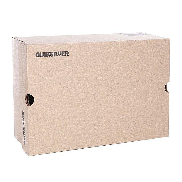 Кеды кроссовки низкие детские Quiksilver Shorebreak B Shoe Grey/Green от BOARDRIDERS