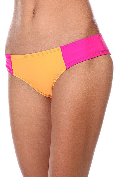 Плавки женские Roxy Cheeky Scooter J Orange/PinkКупальники: плавки<br><br><br>Размер EU: S<br>Размер EU: L<br>Цвет: розовый,оранжевый<br>Тип: Плавки<br>Возраст: Взрослый<br>Пол: Женский