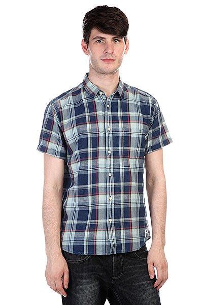 Рубашка в клетку Quiksilver Hythe Dark DenimРубашки<br><br><br>Размер EU: XL<br>Цвет: синий,голубой<br>Тип: Рубашка в клетку<br>Возраст: Взрослый<br>Пол: Мужской