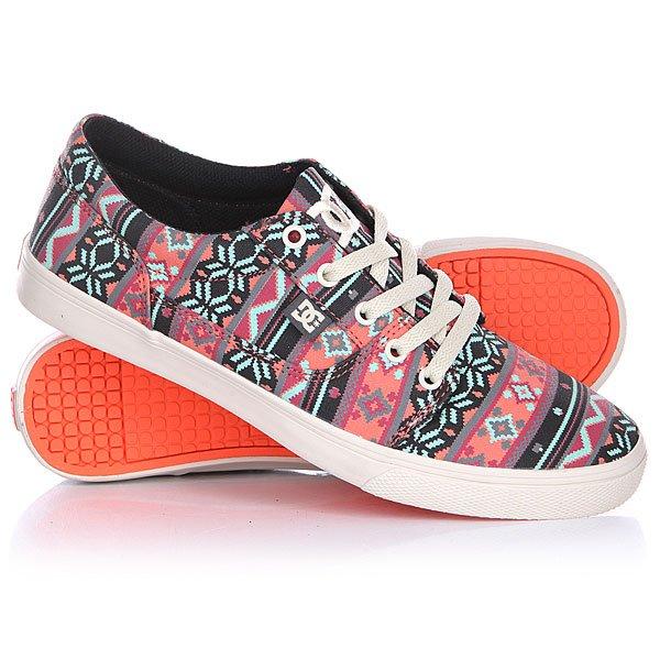 Кеды кроссовки низкие женские DC Tonik W Sp Turtle Dove/Pink от BOARDRIDERS