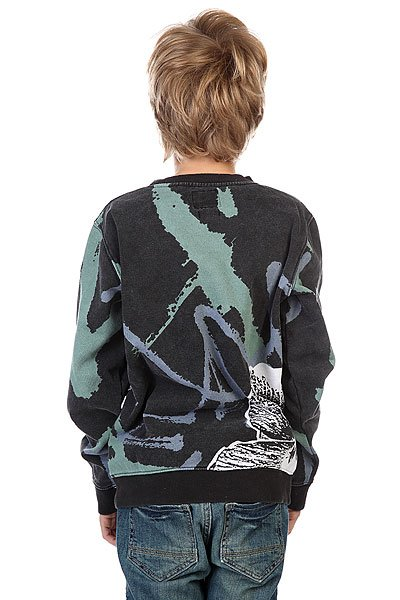 Толстовка детская Quiksilver Pop Grime Youth Anthracite от BOARDRIDERS