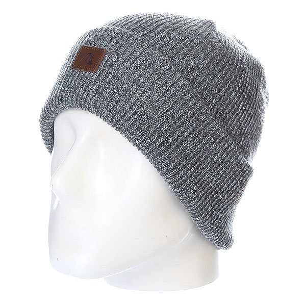 Шапка Quiksilver The Beanie Light Grey Heather