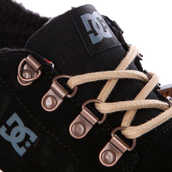 Кеды кроссовки низкие DC Trase Wnt Black от BOARDRIDERS