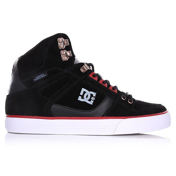 Кеды кроссовки высокие DC Spartan High Wc Black от BOARDRIDERS