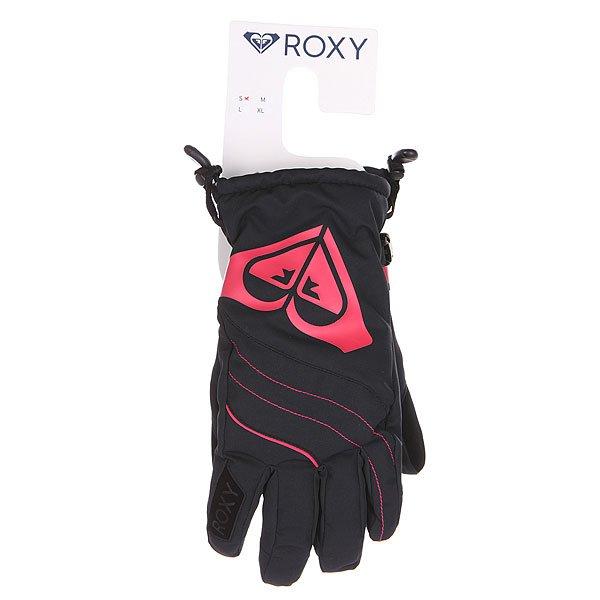 Перчатки сноубордические женские Roxy Popi Gloves Anthracite от BOARDRIDERS