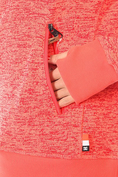 Толстовка сноубордическая женская DC Cleo J Fiery Coral от BOARDRIDERS
