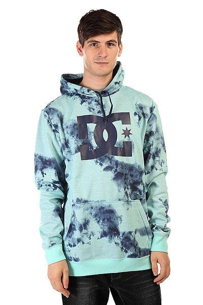 Толстовка сноубордическая DC Snowstar Po Tie Dye Aruba Blue от BOARDRIDERS