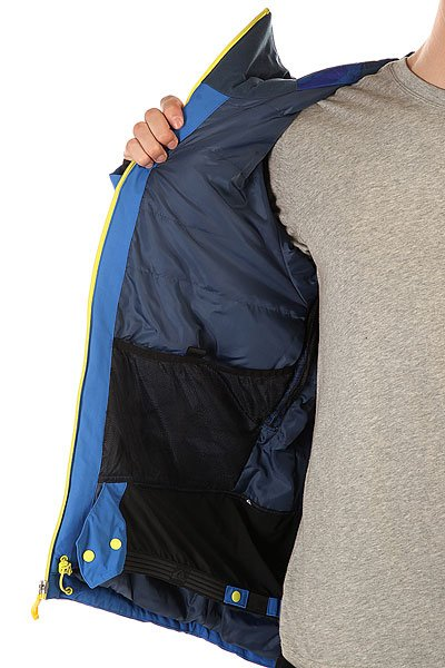 Куртка Quiksilver Zone Jkt Olympian Blue от BOARDRIDERS