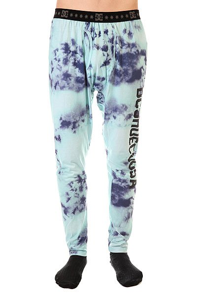 Термобелье (низ) DC Bottom Half Tie Dye Aruba Blue