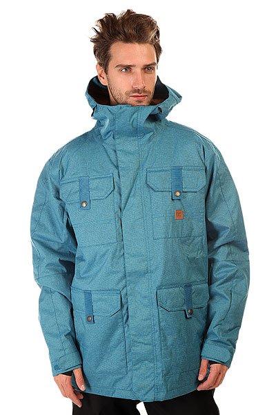 Куртка DC Servo FaienceКуртки<br>Сноубордическая куртка DC Servo призвана обеспечить Вам максимальный комфорт при катании в любую погоду. Влагостойкая ткань Exotex 15K надежно защитит от промокания, а подкладка из тафты добавит мягкости и удобства. <br>Технические характеристики: Подкладка - тафта.Водонепроницаемая мембрана Exotex 15K (15 000 мм / 15 000 г).Проклеенные швы.Фиксированный капюшон с козырьком.Высокий воротник стойка.Вентиляционные отверстия на молнии.Нагрудные карманы на кнопке.Два боковых кармана на кнопке.Внутренний сетчатый карман на липучке.Карман для ски-пасса на молнии.Карман для медиа.Фиксированная снежная юбка.Регулируемые манжеты на липучках.Лайкровые манжеты с отверстием для большого пальца.Застежка - молния+липучки.Фасон: стандартный (regular fit).<br><br>Размер EU: XL<br>Цвет: голубой<br>Тип: Куртка утепленная<br>Возраст: Взрослый<br>Пол: Мужской