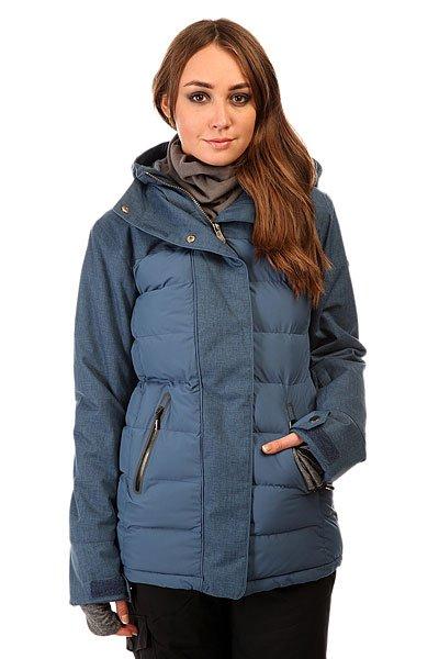 Куртка женская Roxy Tb Crystaliz Jk Ensign Blue BIOTHERMКуртки<br>Продуманная до мелочей куртка с солидным набором технологий. Мембрана Dry Flight в сочетании с утеплителем 3M™ Thinsulate защитят от холода и влаги, чтобы от катания Вы получали только положительные эмоции. Куртка из коллекции талантливой австралийской сноубордистки и райдера DC Торы Брайт. Характеристики:Водостойкая и дышащая мембрана Dry Flight 15K (15 000 мм /15 000 г). Утеплитель 3M™ Thinsulate™: 350 г тело, 100 г капюшон и рукава. Подкладка из ультралегкой тафты. Свободный крой Tailored. Несъёмный капюшон регулируется 3 способами. Съёмная снегозащитная юбка.Система крепления куртки к штанам. Воротник с микрофиброй для защиты подбородка.Регулируемые внешние манжеты на липучке. Эластичные внутренние манжеты.Нагрудный карман. Внутренний карман для маски с тряпочкой для протирания линзы.Утепленные боковые карманы. Карман для ски-пасса на рукаве. Сетчатые карманы для вентиляции. Карабин для ключей. Водостойкие молнии YKK®.Гейтор от Biotherm x ROXY ENJOY &amp; CARE внутри.<br><br>Размер EU: XL<br>Цвет: синий<br>Тип: Куртка утепленная<br>Возраст: Взрослый<br>Пол: Женский