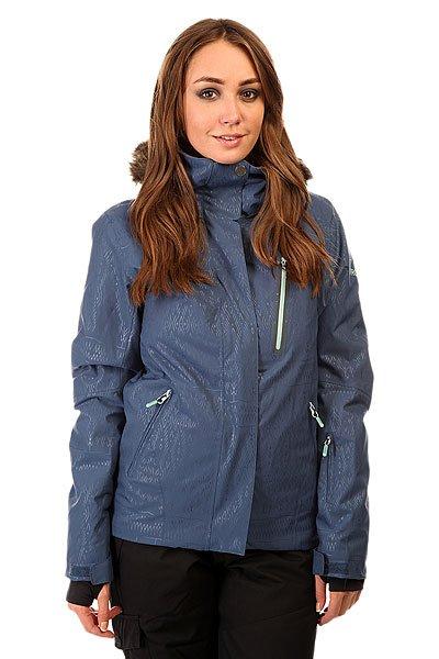 Куртка женская Roxy Jet Ski Prem Jk Ensign Blue BIOTHERMКуртки<br>Качественная сноубордическая куртка в полоску для практичных девушек. На ней не будет видна грязь и она будет сохранять Вас в тепле и комфорте весь катальный день!Характеристики:Водостойкая и дышащая мембрана Dry Flight 10K.Непромокаемые проклеенные швы — каждый шов полностью защищен от проникновения воды снаружи и проклеен водоотталкивающей лентой, надежная молния по всей длине куртки закрывает от влаги и ветра на кнопках, рукава также на кнопках для удобной подгонки по ширине. Дополнительные клипсы и кнопки для подгонки рукавов и защиты от холодного воздуха. Утеплитель Quiktech insulation-2 (120 г - туловище, 100 г - рукава, 40 г - капюшон). Специальная подкладка с тиснением из материала тафта.Внутренние карманы. Карман для ски-пасса. Регулируемый с 3-х сторон съемный капюшон и высокий воротник с защитой горла и лица. Капюшон совместим с маской и шлемом. Коннекторы-крепления предназначенные для соединения куртки со лыжными штанами Roxy. Вентиляционная сетка. Интегрированная лайкровая манжета-полуперчатка внутри рукава для утепления пальцев. Снегозащитная юбка. Экологичные материалы и технологии для защиты природы.<br><br>Размер EU: S<br>Размер EU: XS<br>Размер EU: M<br>Размер EU: L<br>Размер EU: XL<br>Цвет: синий<br>Тип: Куртка утепленная<br>Возраст: Взрослый<br>Пол: Женский