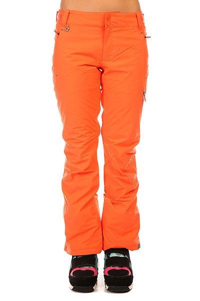 Штаны сноубордические женские Roxy Rushmore Gor Pt J Snpt NasturtiumШтаны<br>Женские сноубордические штаны Rushmore 2L GORE-TEX из сноубордической коллекции Roxy. Характеристики:Водостойкость: GORE TEX. Утеплитель: 3M™ Thinsulate™ Type M 40 г. Подкладка: тафта и трикотаж с начесом в районе ягодиц и коленей.Крой: приталенный. Регулировка талии. Система прикрепления штанов к куртке. Система подтяжки края штанин для защиты от износа и грязи. Край штанины на молнии. Сеточная вентиляция. Уплотненный подол. Гейтеры из тафты с эластичной вставкой из лайкры. Держатель для ски-пасса. Водонепроницаемая молния YKK®.Коллекция White Wave.<br><br>Размер EU: XL<br>Цвет: оранжевый<br>Тип: Штаны сноубордические<br>Возраст: Взрослый<br>Пол: Женский