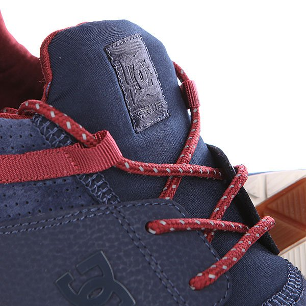 Кроссовки DC Heathrow Le Navy/Red от BOARDRIDERS