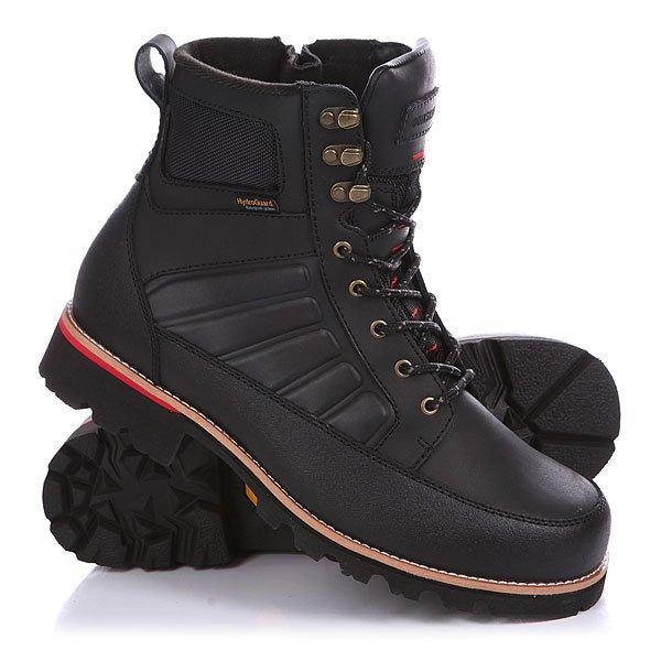 Ботинки зимние Quiksilver The Summit Solid BlackБотинки<br>Водонепроницаемые ботинки от Quiksilver обеспечат Вам надежную защиту от мороза и влаги.Технические характеристики: Водостойкий верх из лицевой кожи.Водонепроницаемая конструкция Hydroguard.Подкладка Cosmo-therm – теплая, дышащая и уютная.Защита от налипания грязи и усиленная пятка.Двухцветные шнурки в крапинку.Особая конструкция с «прошвой» – кожаной вставкой между внутренником и верхом.Прочная подошва Vibram с отличным коэффициентом сцепления.Материал подошвы - каучук.<br><br>Размер EU: 42<br>Размер US: 9<br>Размер CM: 27.5<br>Размер EU: 41<br>Размер US: 8<br>Размер CM: 27<br>Размер EU: 44<br>Размер US: 11<br>Размер CM: 29<br>Размер EU: Quik man B: 12us 45eur 29.75cm<br>Размер EU: 43<br>Размер US: 10<br>Размер CM: 28.5<br>Цвет: черный<br>Тип: Ботинки зимние<br>Возраст: Взрослый<br>Пол: Мужской