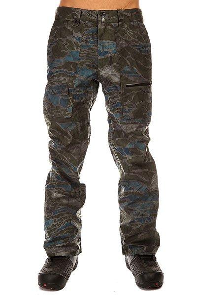 Штаны сноубордические Quiksilver Dark &amp; Stormy Space Reflector ArmyШтаны<br>Сноубордические штаны с дизайном под джинсу, которые будут надёжно противостоять различным капризам природы, благодаря дышащей и водостойкой мембране 15K и отличному функционалу.Характеристики:Водостойкость: Dry Flight 15K. Подкладка: выводящая влагу тафта с трикотажем с начесом в области ягодиц. Полностью проклеенные швы. Сеточная вентиляция. Регулировка талии. Изнанка пояса из тафты с начесом. Гейтеры из синтетической тафты. Края штанин на молнии. Система прикрепления штанов к куртке. Система приподнимания и фиксации края штанин в целях ухода. Держатель для скипасса. Тройная система застегивания. Водонепроницаемая молния YKK®.Коллекция Snow Modern Originals.<br><br>Размер EU: S<br>Размер EU: M<br>Цвет: зеленый,серый,синий<br>Тип: Штаны сноубордические<br>Возраст: Взрослый<br>Пол: Мужской
