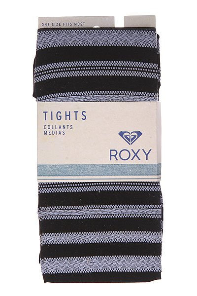Колготки женские Roxy Knit Faux Lace Tight Black от BOARDRIDERS