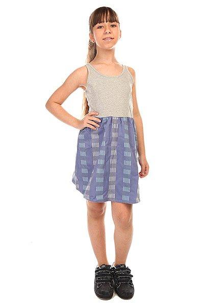 Юбка детская Roxy North Side G Wvdr Stix Stripe LigПлатья и Юбки<br>Легкая юбка на резинке свободного кроя и средней длины – в ней никогда не будет жарко. Характеристики:Пояс на резинке.Обработка краев.<br><br>Размер EU: 10yrs<br>Цвет: серый,синий<br>Тип: Юбка<br>Возраст: Детский