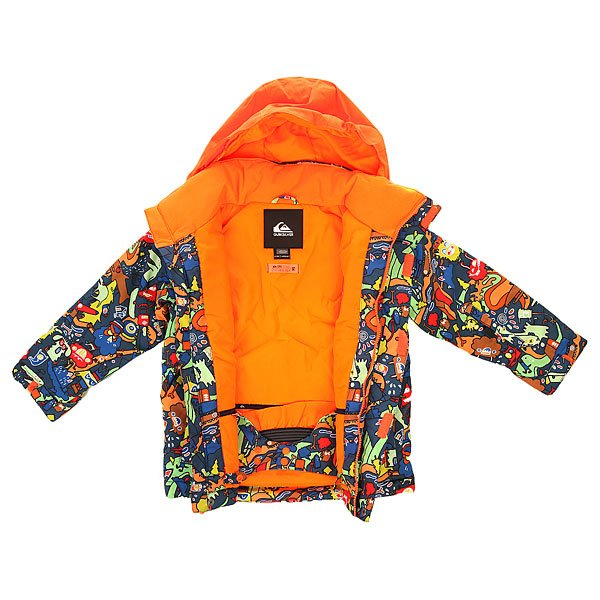Куртка детская Quiksilver Little Mission Ghetto Band Multi от BOARDRIDERS