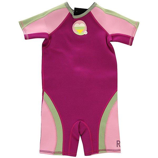 Гидрокостюм детский Roxy Syncro 1.5mm Spring GreyГидрокостюмы<br><br><br>Размер EU: 4yrs<br>Цвет: розовый,фиолетовый,зеленый<br>Тип: Гидрокостюм<br>Возраст: Детский