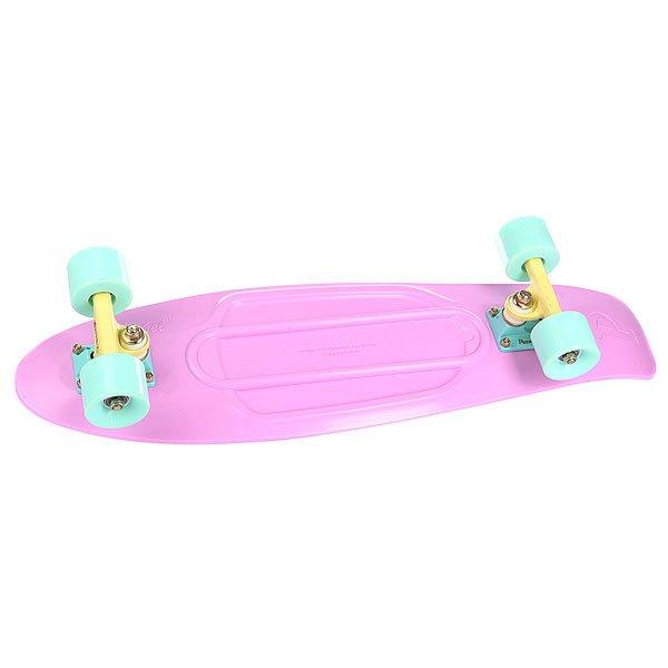 Скейт мини круизер Penny Nickel Pastels Lilac 27 (68.6 см)Лонгборды<br><br><br>Размер EU: 27 (68.6 см)<br>Цвет: розовый<br>Тип: Скейт мини круизер<br>Возраст: Взрослый