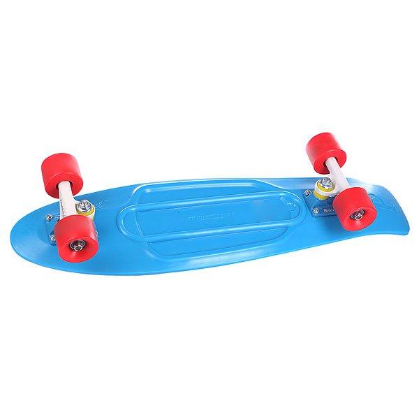 Скейт мини круизер Penny Nickel Br Blue 27 (68.6 см)Лонгборды<br><br><br>Размер EU: 27 (68.6 см)<br>Цвет: синий<br>Тип: Скейт мини круизер<br>Возраст: Взрослый