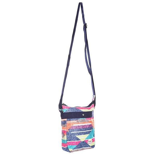 Сумка для документов женская Roxy Having Fun Desert Point Geo ComРюкзаки и Сумки<br>Компактная сумка для самых необходимых мелочей станет отличной альтернативой рюкзаку, когда нет необходимости брать с собой много вещей. Яркие контрастные цвета, потайной карман на молнии с внутренней стороны и длинный регулируемый ремень - носите Roxy Having Fun с платьем или с джинсами и получайте удовольствие!Характеристики:Основное отделение на молнии.Длинный регулируемый плечевой ремень. Потайной карман с обратной стороны сумки на молнии. Фирменный логотип.<br><br>Размер EU: One Size<br>Цвет: мультиколор<br>Тип: Сумка для документов<br>Возраст: Взрослый<br>Пол: Женский